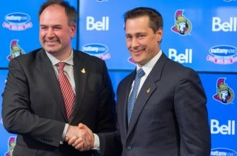 How was the 2016-17 Ottawa Senators back-end constructed?