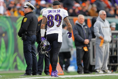 Steve Smith Sr. made it official. He is done 'antagonizing defensive backs.'