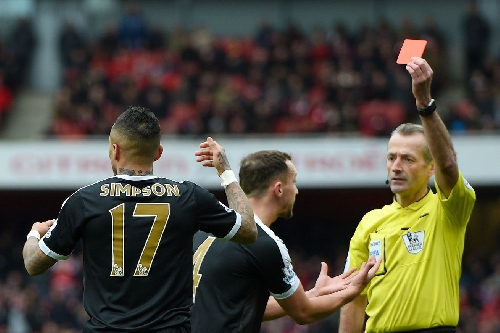 Atkinson the referee for Everton's Cup game