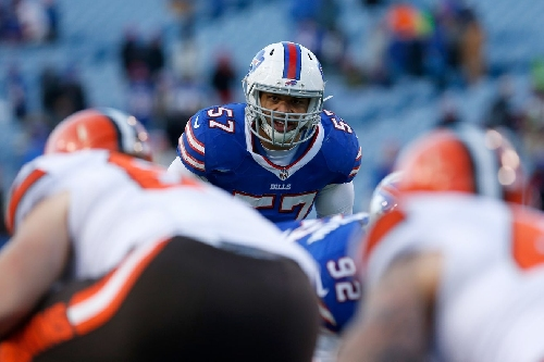 Bills' linebacker Lorenzo Alexander is second-team All-Pro