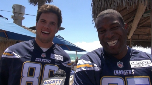 Hunter Henry reflects on his rookie season & the great Antonio Gates