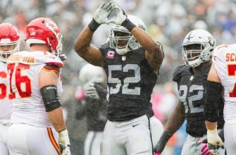 Three Oakland Raiders Named To All-Pro Team