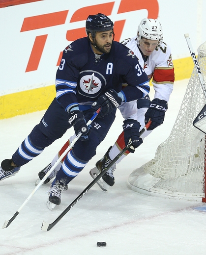 Byfuglien asked to play with Morrissey