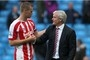 Mark Hughes understands why Ryan Shawcross reacted to Stoke City...