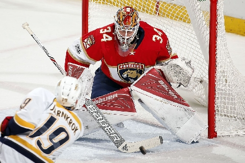 Panthers end home skid with 2-1 win over Predators