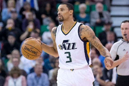 Utah Jazz point guard George Hill cleared to play tonight against Minnesota Timberwolves