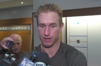 Jeff Carter postgame: We came to play after the first period