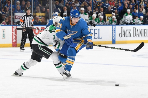 Dallas Stars Come Back From Slow Start but Fall 4-3 to St. Louis Blues