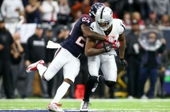 Oakland Raiders WR Michael Crabtree Evaluated For Concussion vs. Houston