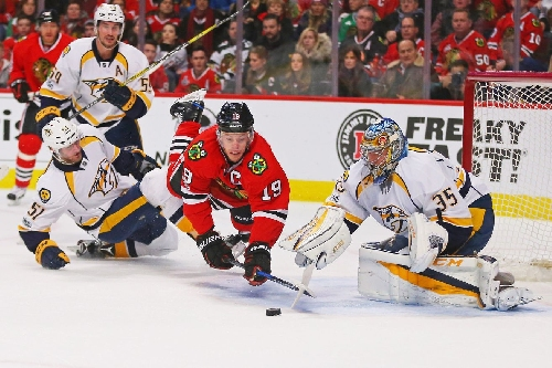 Nashville Predators 2, Chicago Blackhawks 5: Ouch