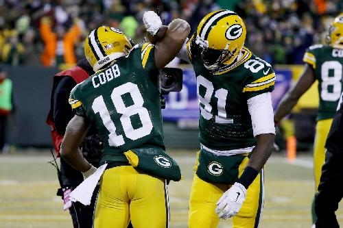 Packers Wild Card Snap Counts: Receiving corps adjusts to loss of Jordy Nelson