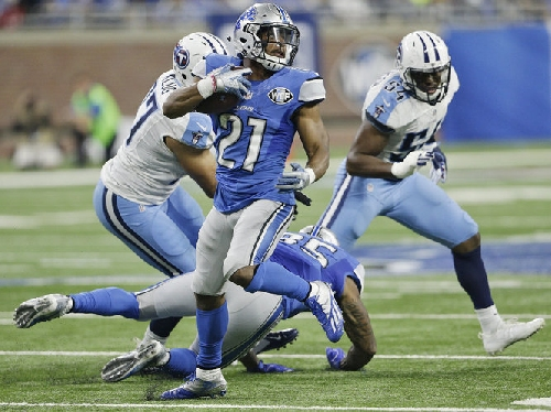 Ameer Abdullah, humbled by injuries, says he can still be Lions' No. 1 back