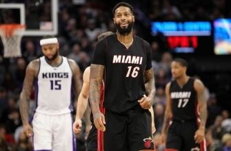 James Johnson on playing small-ball center: 'I think it helps our team'