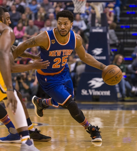 Derrick Rose not with Knicks for game against Pelicans The Associated Press