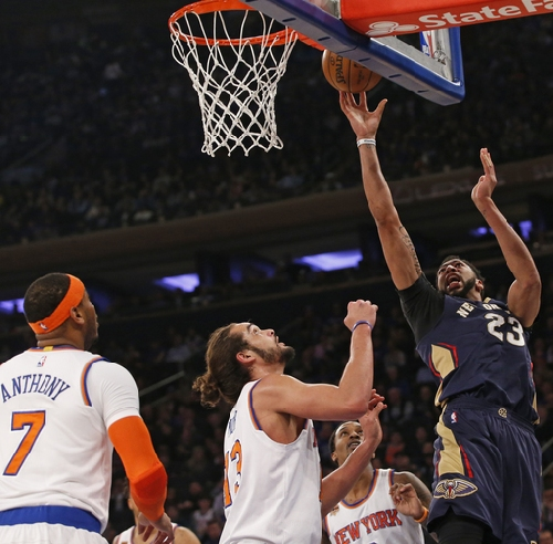 Davis dominates, Pelicans roll past depleted Knicks 110-96 The Associated Press