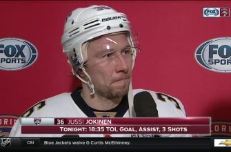Jussi Jokinen: Everyone contributed to this one tonight