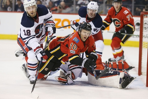 Flames Look Completely Disjointed in Loss to Jets