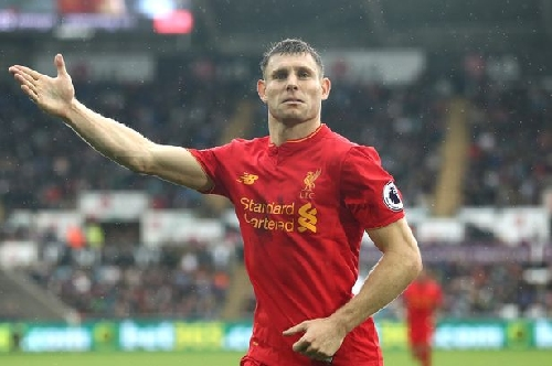 Liverpool's James Milner ranked Europe's second best full back - and best in Premier League