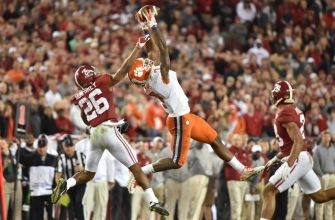 Mike Williams of Clemson improved draft stock significantly