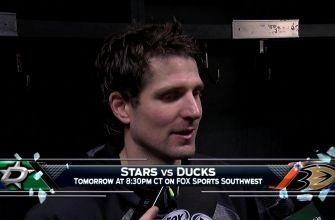 Patrick Sharp talks thrilling 6-4 win in LA
