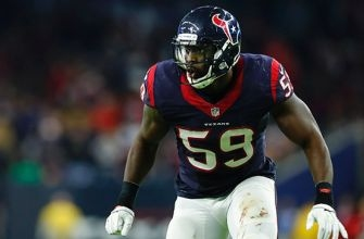 Whitney Mercilus on Facing the Patriots in the Playoffs, Jadeveon Clowney the Beast