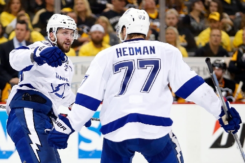 Nikita Kucherov and Victor Hedman named to NHL All-Star Game