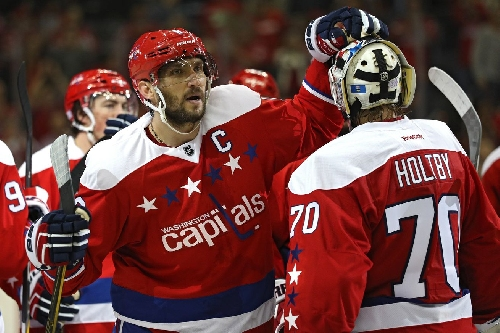 Alex Ovechkin and Braden Holtby Named to 2017 All-Star Game