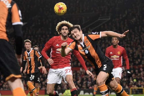 Marouane Fellaini is Manchester United's cup hero vs Hull City as late goal puts Reds closer to Wembley