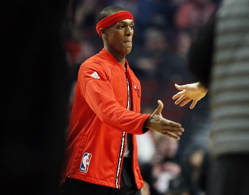 Rondo says he was told Bulls coaches 'saving me from myself' The Associated Press