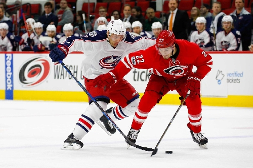 Quick Takes: Weakened Jackets Fall to Hurricanes 5-3