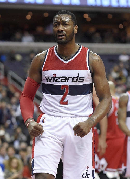 Wizards above .500 after Wall keys 101-99 win over Bulls The Associated Press