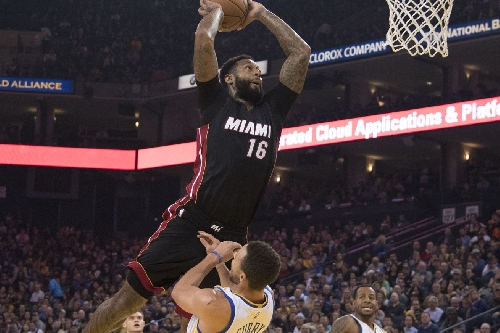 James Johnson posterizes Stephen Curry with monster dunk vs Warriors