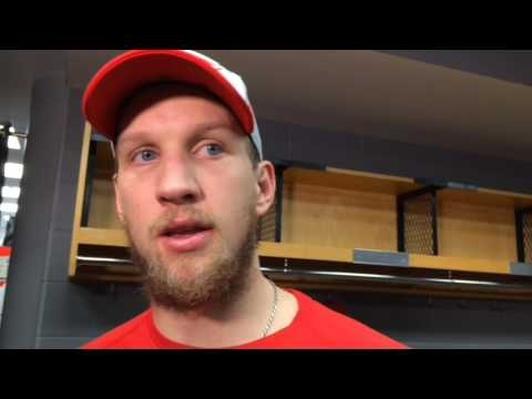 Red Wings' Justin Abdelkader, on costly penalty and team's lack of discipline
