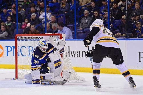 Bruins Vs. Blues Recap: Don't Call it a ComeBackes