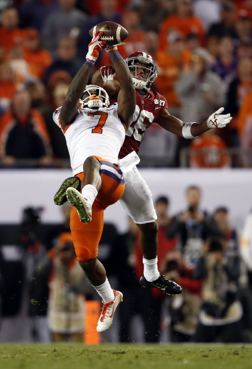 Cleveland Browns Scribbles after watching NCAA title game, think Mike Williams -- Terry Pluto