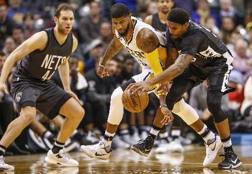 Paul George will debut signature shoe against Nuggets