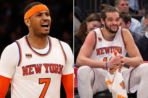 Joakim Noah's a horrible fit and Carmelo has to bolt: TNT analyst