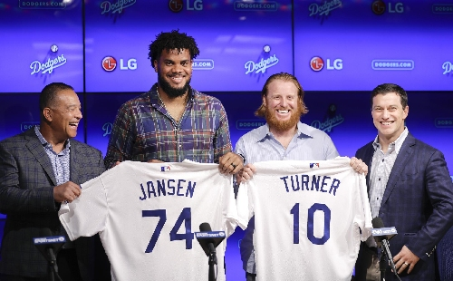 With Jansen and Turner in fold, Dodgers meet 2 winter goals The Associated Press