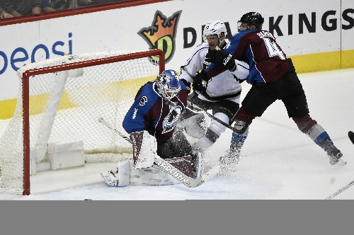 Semyon Varlamov will be back in the Avalanche net against Anaheim