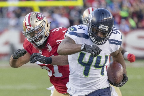 Seahawks-Falcons, NFL playoffs: CJ Prosise limited Wednesday, Marcel Reece good to go