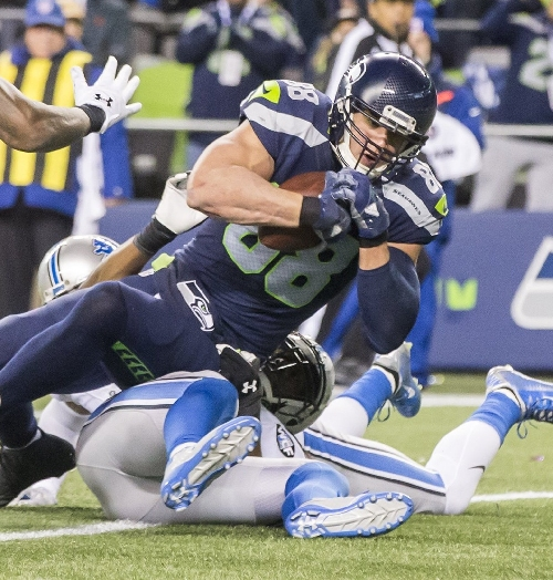 Seahawks might need to make good use of Jimmy Graham in red zone Saturday against Atlanta