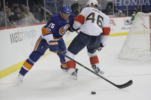 Demers, Luongo lead Panthers to 2-1 win over Islanders The Associated Press