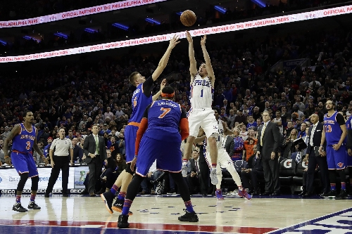 McConnell's jumper at buzzer sends 76ers past Knicks, 98-97 The Associated Press