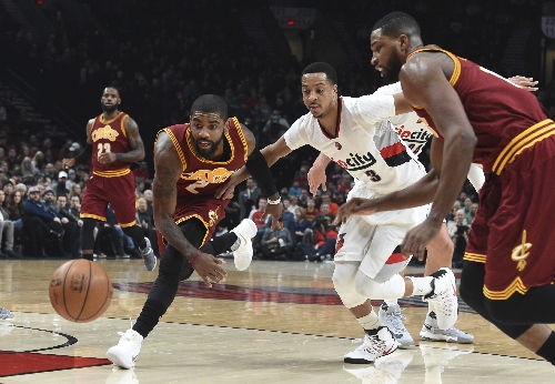 McCollum has 27 and the Blazers beat the Cavaliers 102-86 The Associated Press
