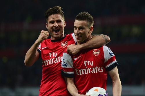 Giroud, Koscielny, Coquelin sign Arsenal contract extensions