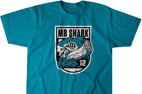 Patrick Marleau is Mr. Shark in this new shirt