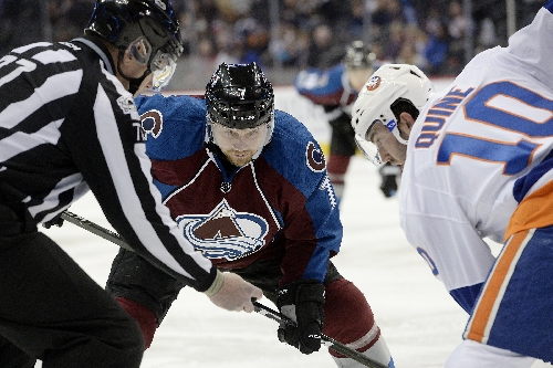John Mitchell will be among Avalanche healthy scratches against Ducks