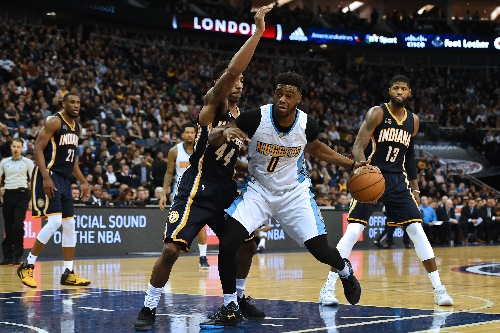 Denver drills 15 3-pointers as Nuggets wallop Indiana Pacers in London