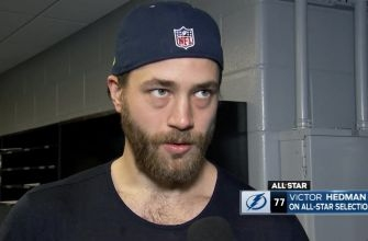 Lightning's Victor Hedman on being selected an NHL All-Star for the first time