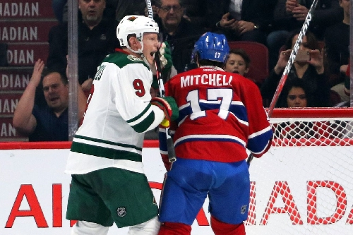 Game 40: Montreal Canadiens @ Minnesota Wild